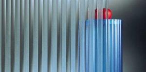 Szkło Flutes piaskowane
